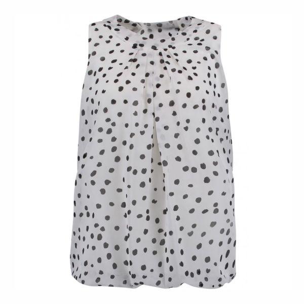 HAILYS Damen Bluse Top DOTTY offwhite Art.Nr. JY-1701063