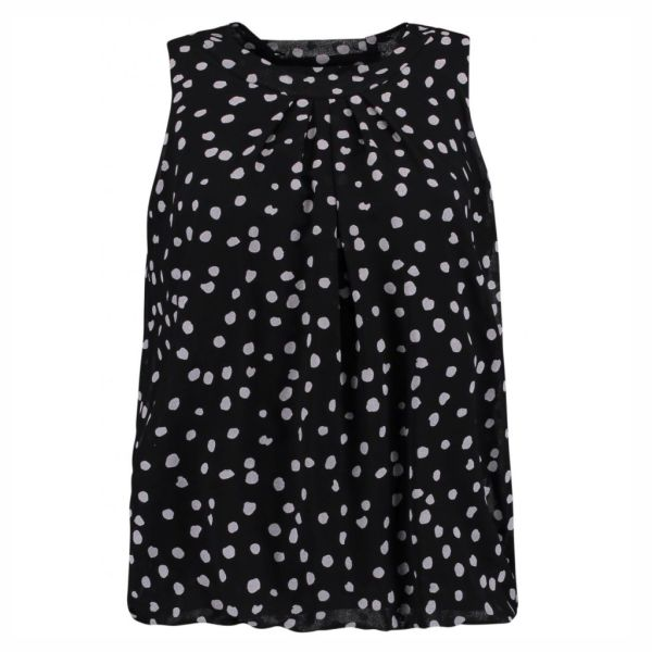 HAILYS Damen Bluse Top DOTTY black ohne Arm Art.Nr. JY-HAILYS Damen Bluse Top Dotty rose Art.Nr. JY-HAILYS Damen Bluse Top DOTTY Art.Nr. JY-1701063