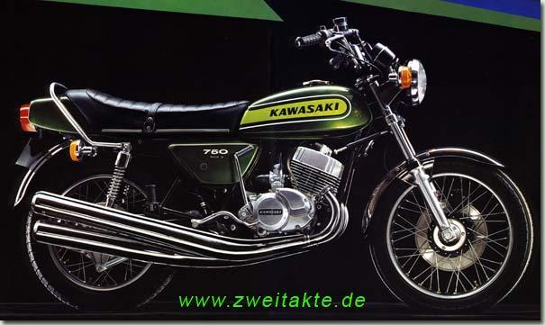 Bildergebnis für kawasaki 750 70er