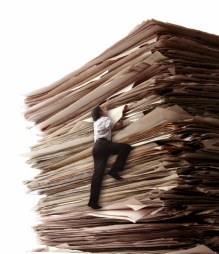 Climbing a Pile of Files
