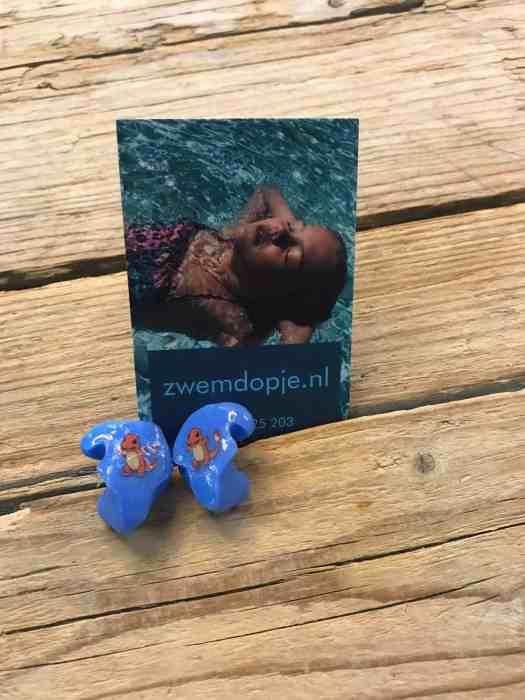 Zwemdoppen met plaatjes
