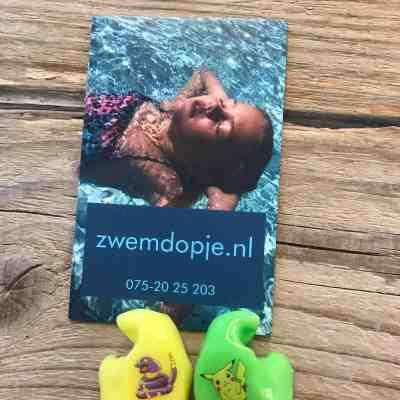 Zwemdop op maat van Zwemdopje.nl