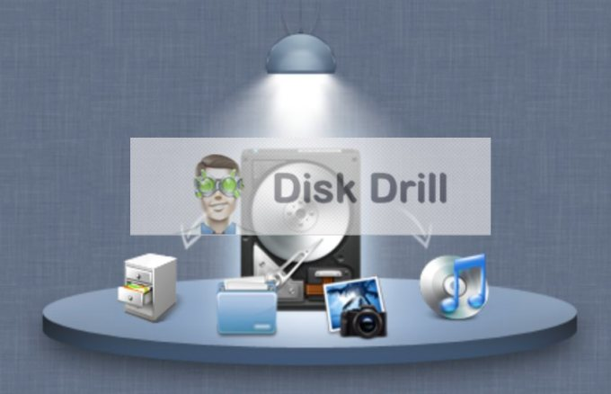 Disk Drill Cover