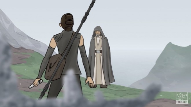 How Star Wars: The Force Awakens should have ended