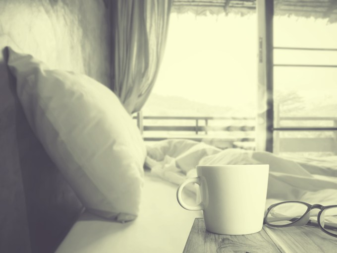 coffe in bed