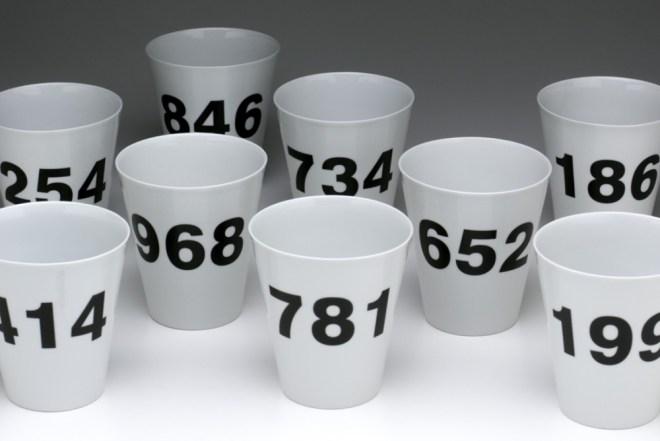 Random Porcelain Cup