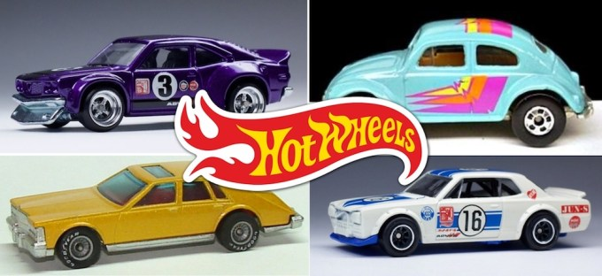 List of all 'Hot Wheels' by Year