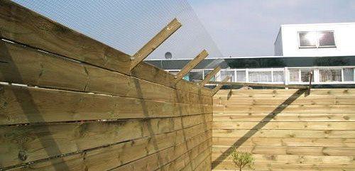 tip een veilige tuin schutting