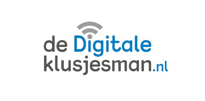 Logo van De Digitale Klusjesman.nl uit Rotterdam