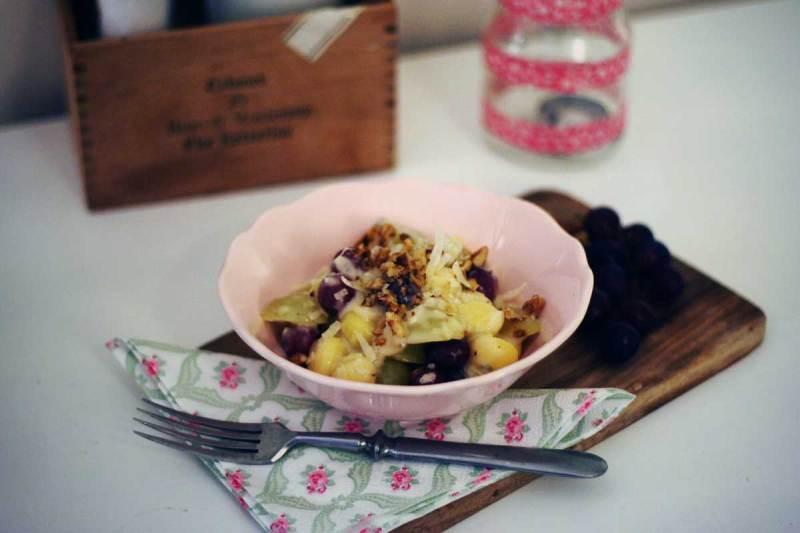 gnocchi mit trauben, walnüssen & kapern