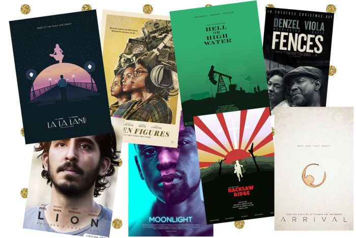 oscar nominierungen 2017 - best film