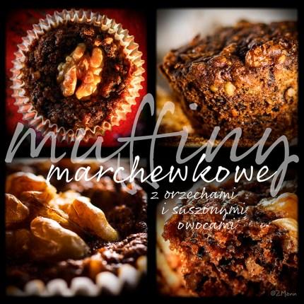 z widokiem na stół | muffiny marchewkowe