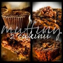 z widokiem na stół   |  muffiny z cukinii