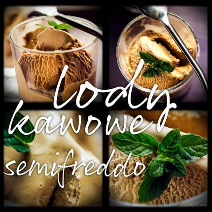 z widokiem na stół | lody kawowe & semifreddo