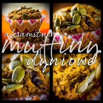 z widokiem na stol | muffiny dyniowe