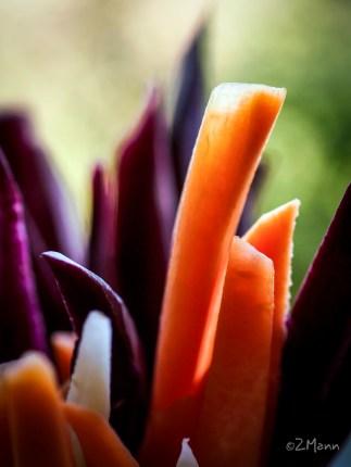 z widokiem na stół   dania warzywne