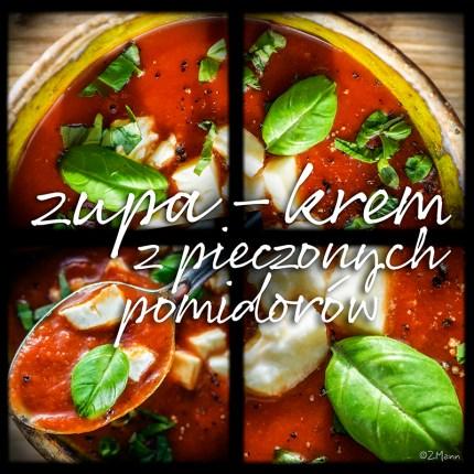 z widokiem na stół   zupa-krem z pieczonych pomidorów