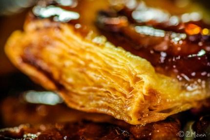 z widokiem na stół | ciastka francuskie ze śliwką . najprostsze