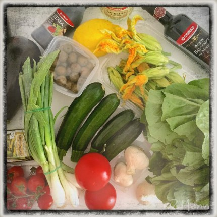 z widokiem na stół   |   zapiski podróżne Elba   |   włoskie warzywa