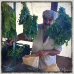 z widokiem na stół | zapiski podróżne Elba | włoski targ warzywny