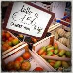 z widokiem na stół   zapiski podróżne Elba   włoski targ warzywny
