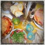 z widokiem na stół   zapiski podróżne Elba   jedzenie na mieście