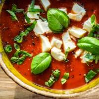 zupa-krem z pieczonych pomidorów