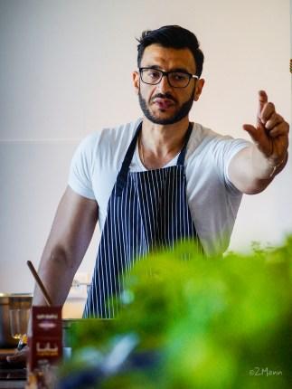 z widokiem na stół | kuchnia Bliskiego Wschodu | Aws Naser