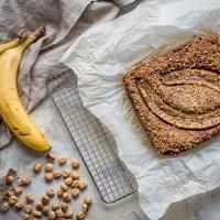 ciasto bananowo-orzechowe . oraz wersja bezglutenowa