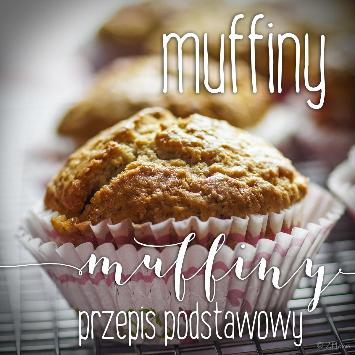 z widokiem na stół   |   muffiny przepis podstawowy