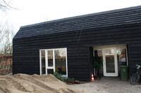 nieuwbouw houten schuur