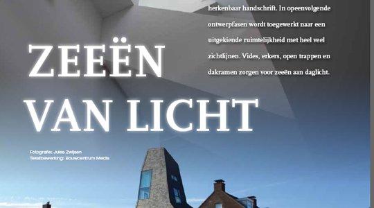 Portfolio Architectenbureau Jules Zwijsen in het Bouwkavels Magazine