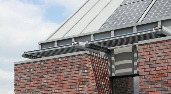 Integratie van pv-panelen en zonnecollectoren