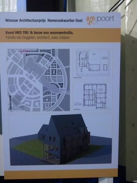 De architectuurbijdrage Almere Homeruskwartier oost gewonnen door de familie van Seggelen