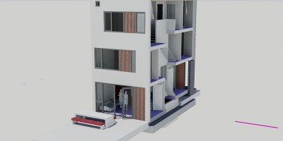 Coendersbuurt kavel architect tuingevel ontwerp