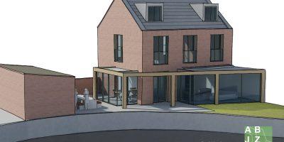 moderne-aanbouw-keuken-en-woonkamer-architect