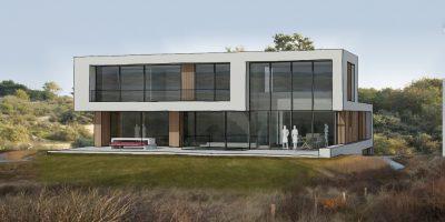 moderne villa verbouw duinen zandvoort architect