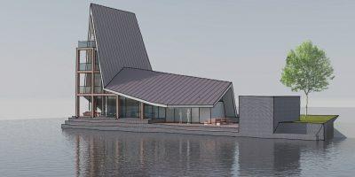 architect kavel special waterrijk woerden villa