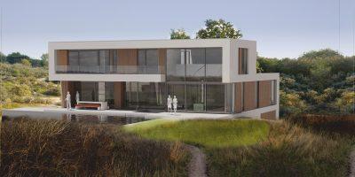 moderne villa duinen zandvoort architect jules zwijsen verbouw vrijstaand