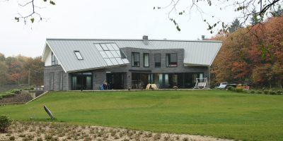 landgoed sancta maria architect voorbeeld villa kavel bos