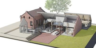 verbouw boerderij monument zomerhuis stal architect amsterdam