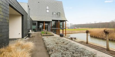 kavel architect moderne woning villa bouwgrond
