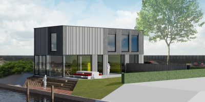 watervilla modern architect blaricum gooi