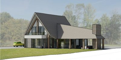 bouwgrond gooi vechtstreek architect moderne luxe villa kortenhoef