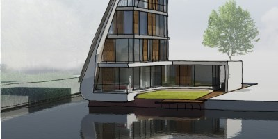 kavel bouwgrond woerden waterrijk architect moderne woning