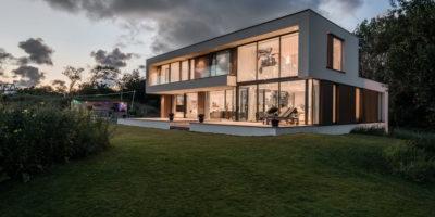 architect moderne villa woning nieuwbouw kavel bouwgrond gooi