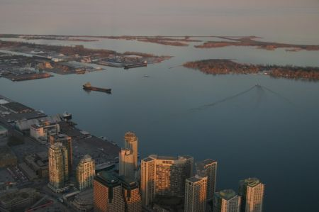 View from CN Tower, Toronto