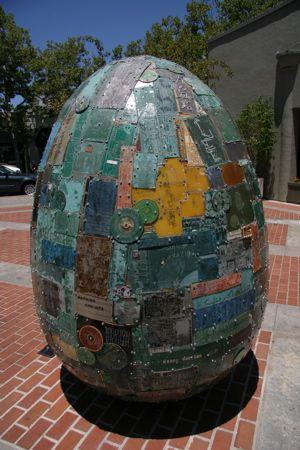 Circuit-board egg, Palo Alto