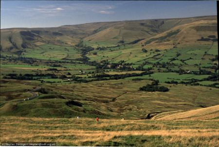 The Peak District near Edale