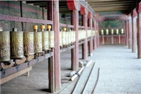 Prayer Wheels are very popular in Tibet!